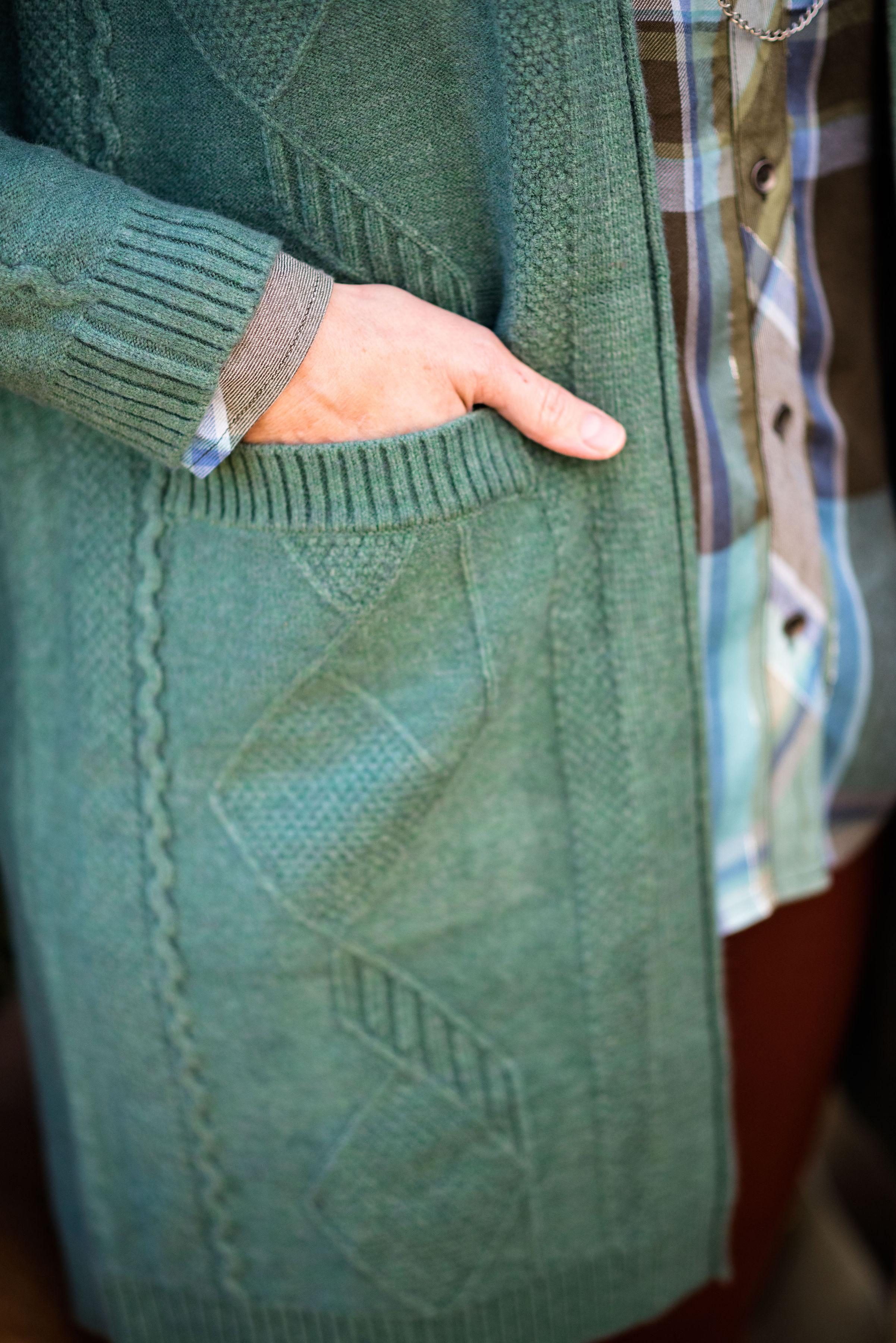 Eva Trends - Verdant Cardigan