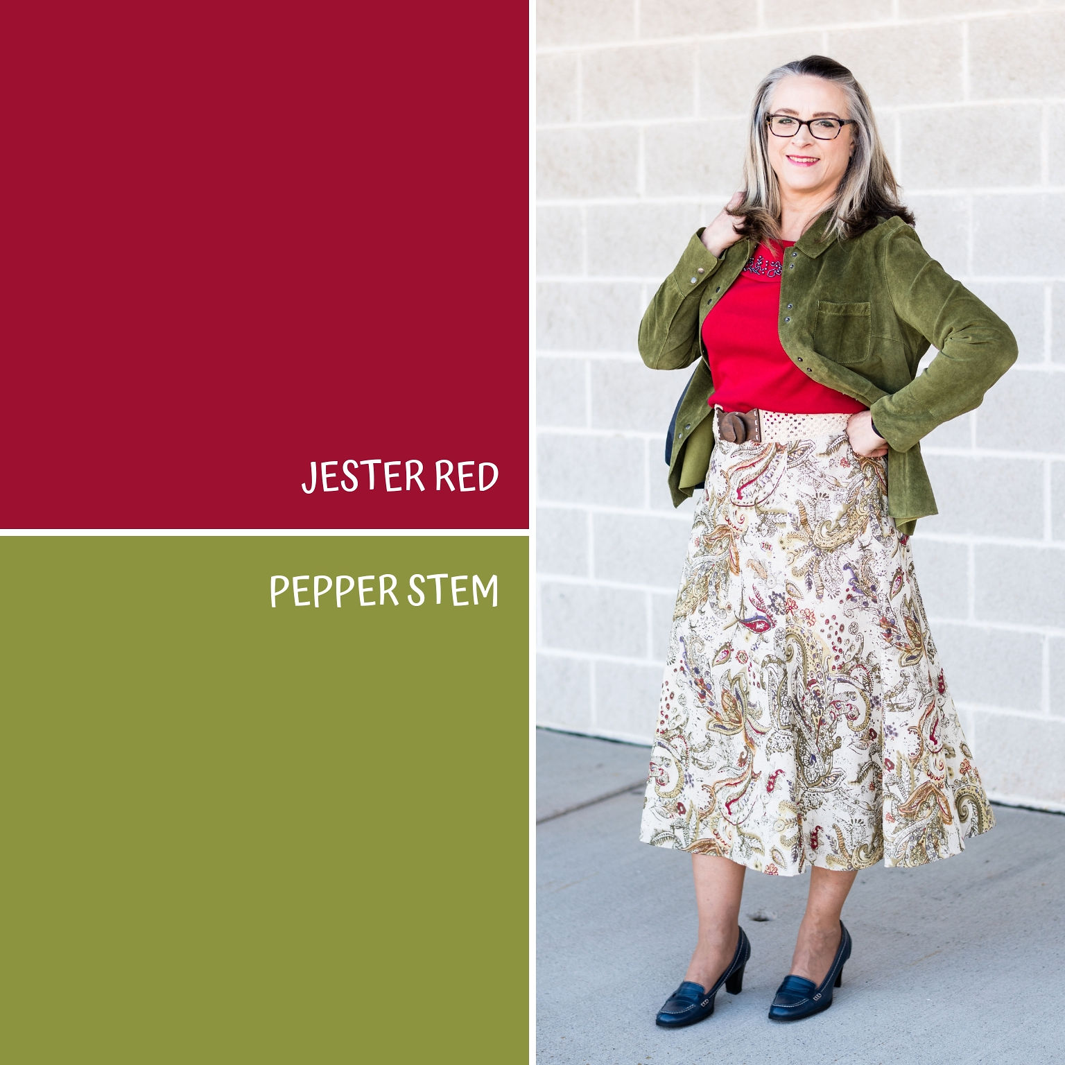 Pantone Spring/Summer - 2019 - Jester Red and Pepper Stem