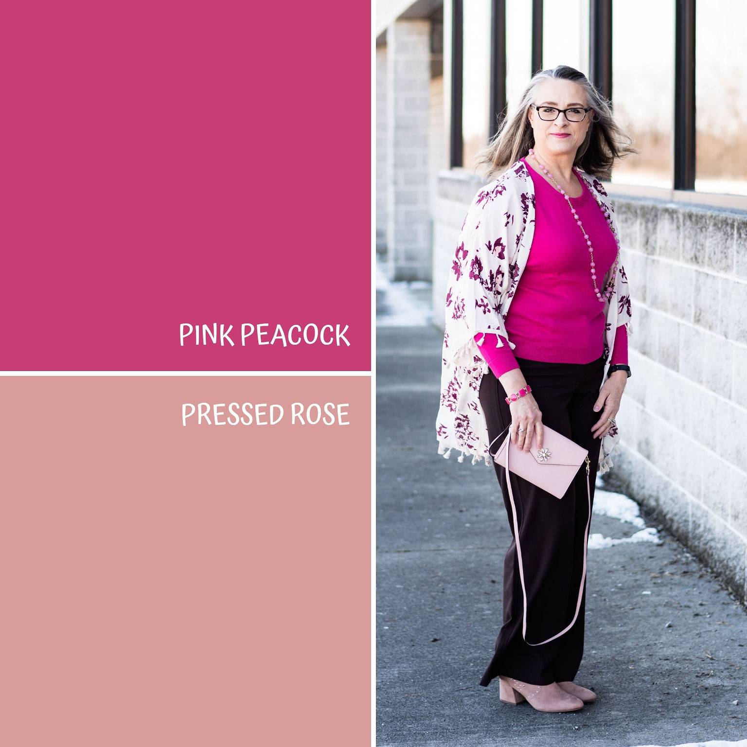 Pantone Spring/Summer - 2019 - Pink Peacock & Pressed Rose