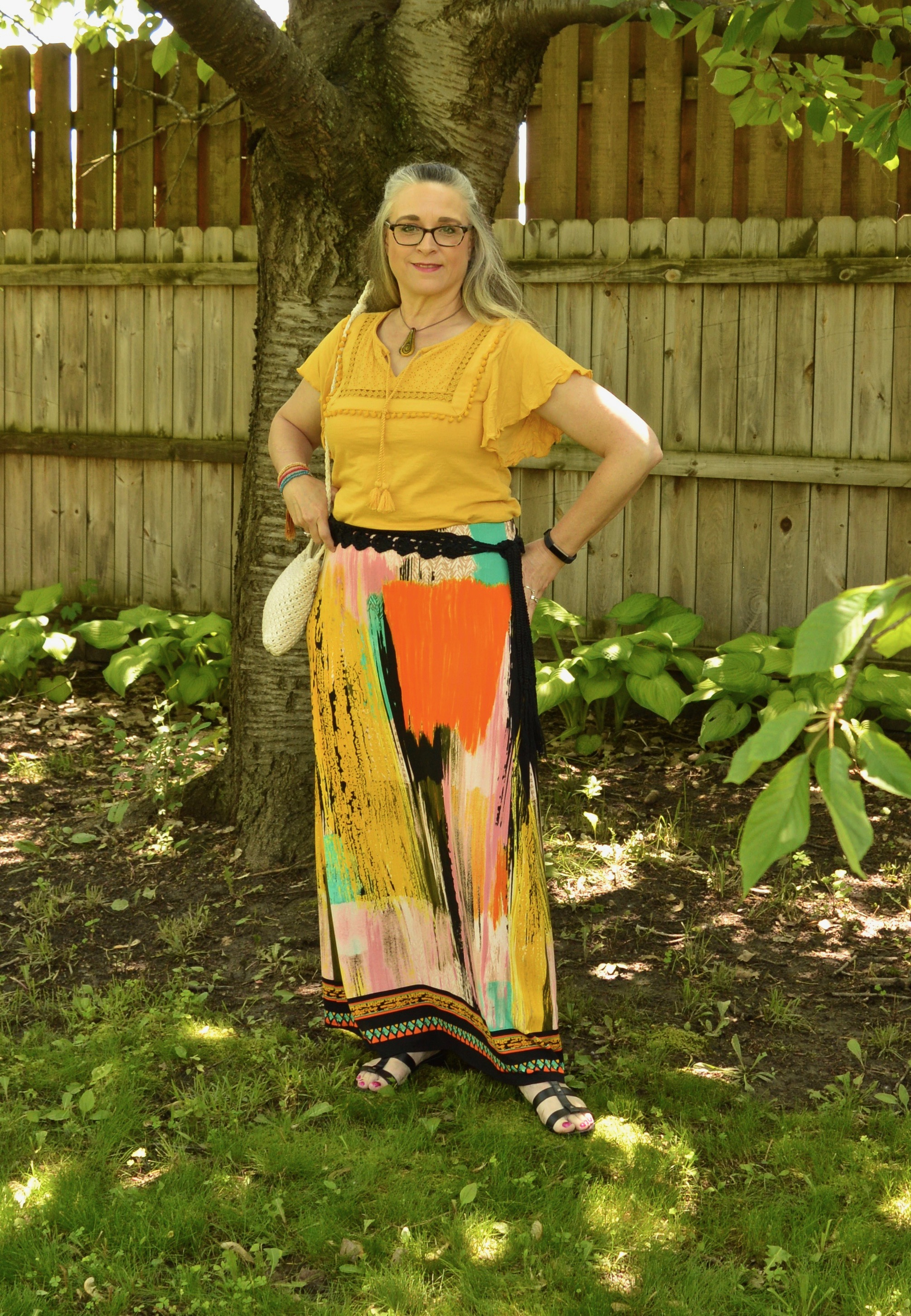 Summer Pieces - Water Color skirt