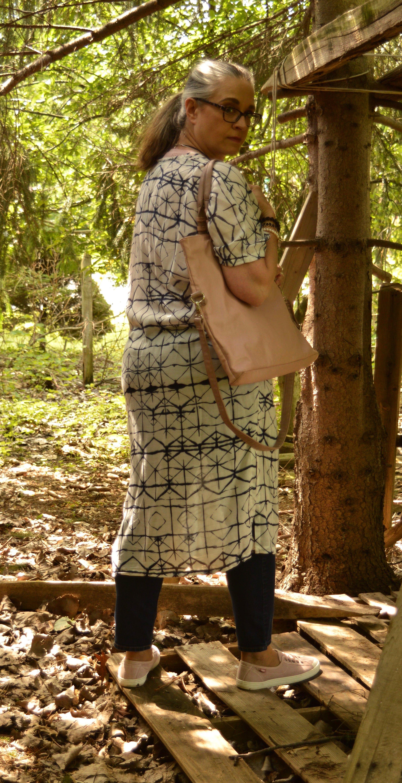 Summer pieces - longer kimono