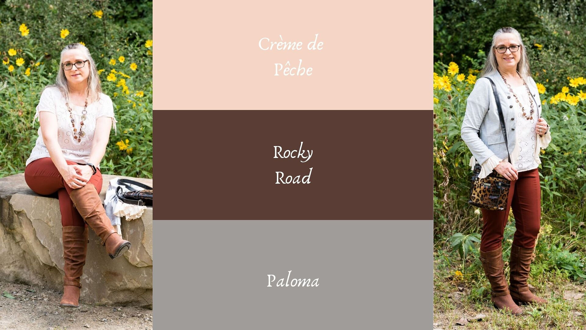 Pantone - Autumn/Winter - 2019 - Creme de Peche and Rocky road