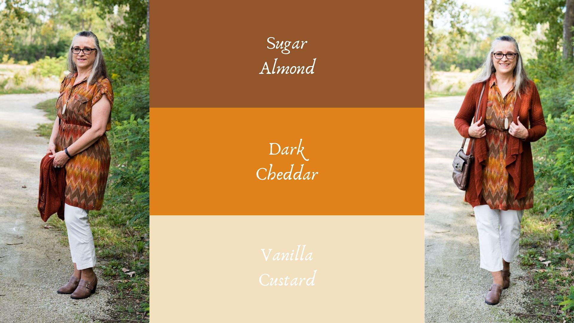 Pantone - Autumn/Winter - 2019 - Sugar Almond and Dark Cheddar