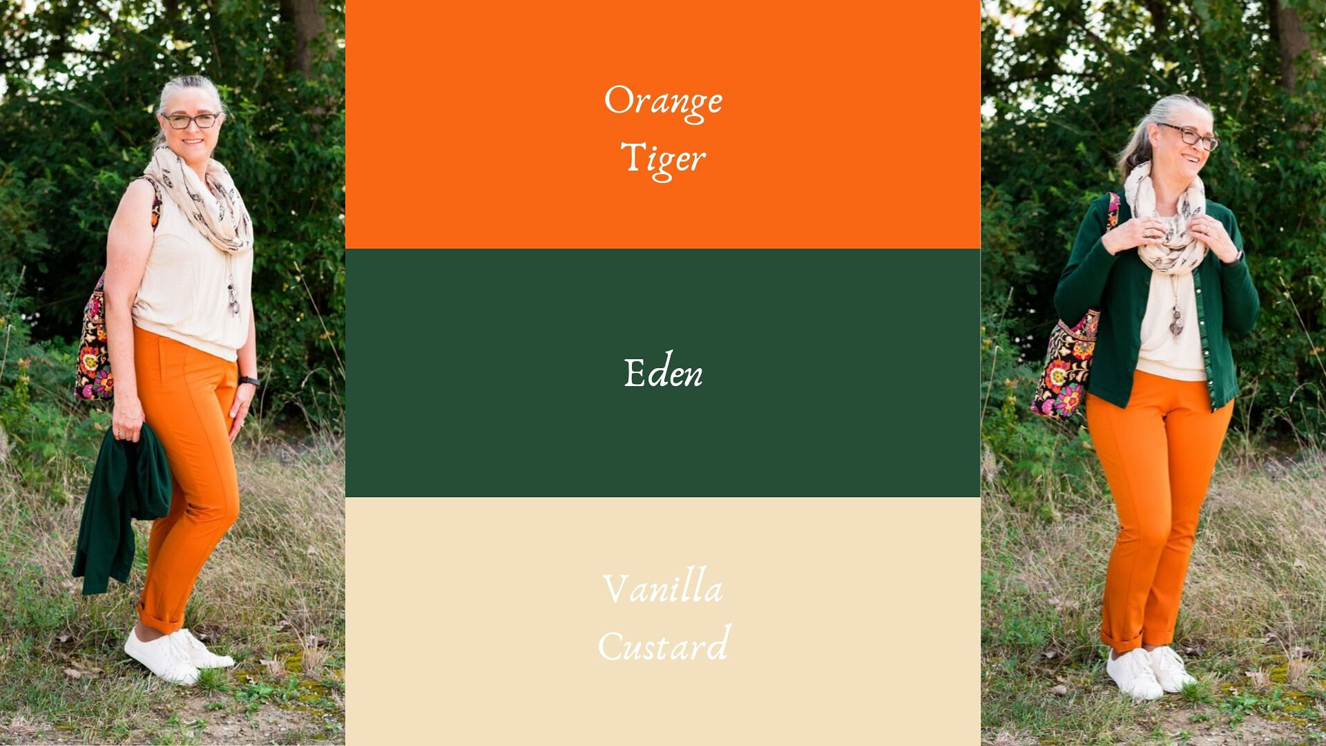 Pantone - Autumn/Winter - 2019 - Orange Tiber and Eden
