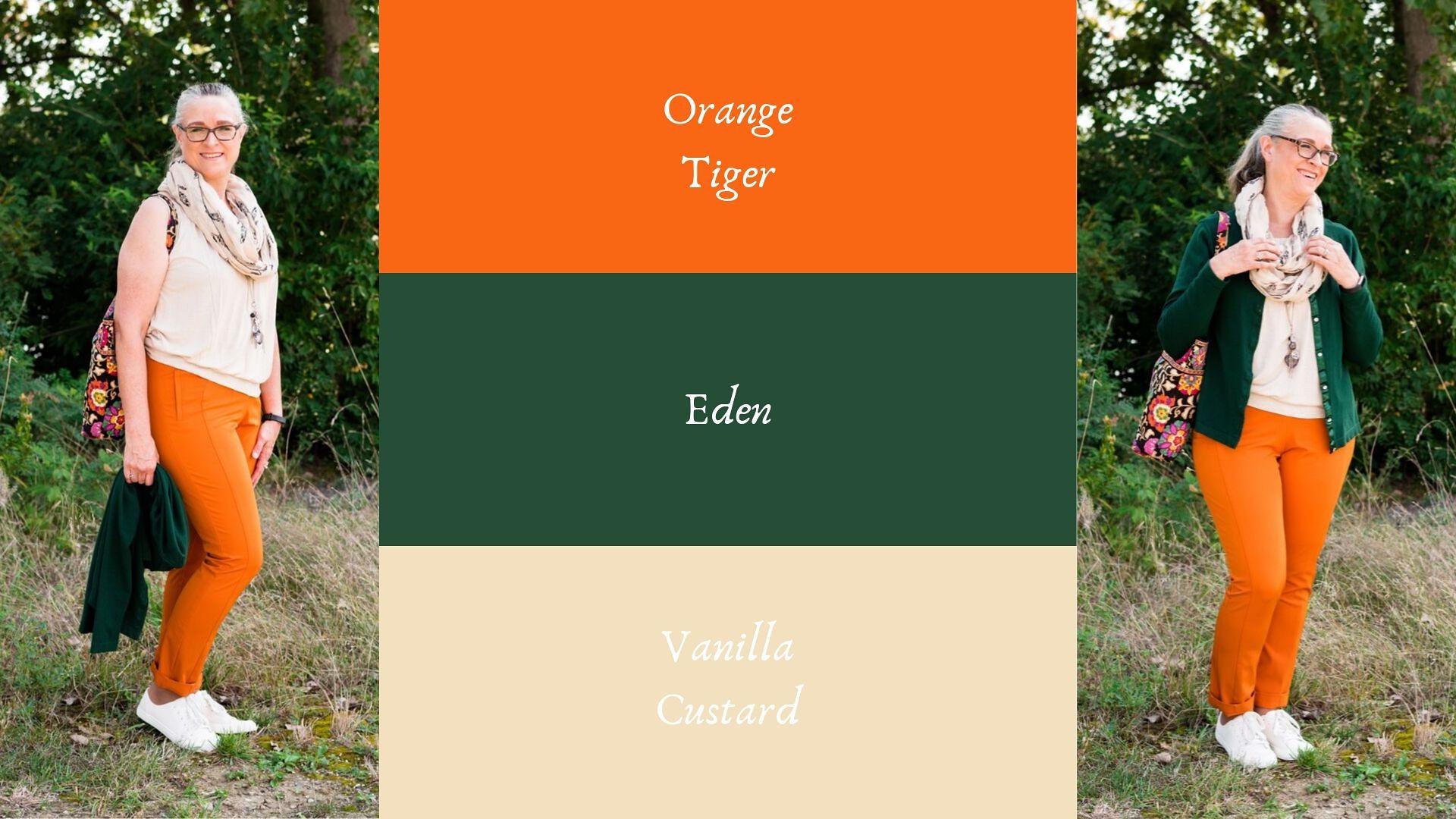 Pantone - Autumn/Winter - 2019 - Orange Tiber and Eden