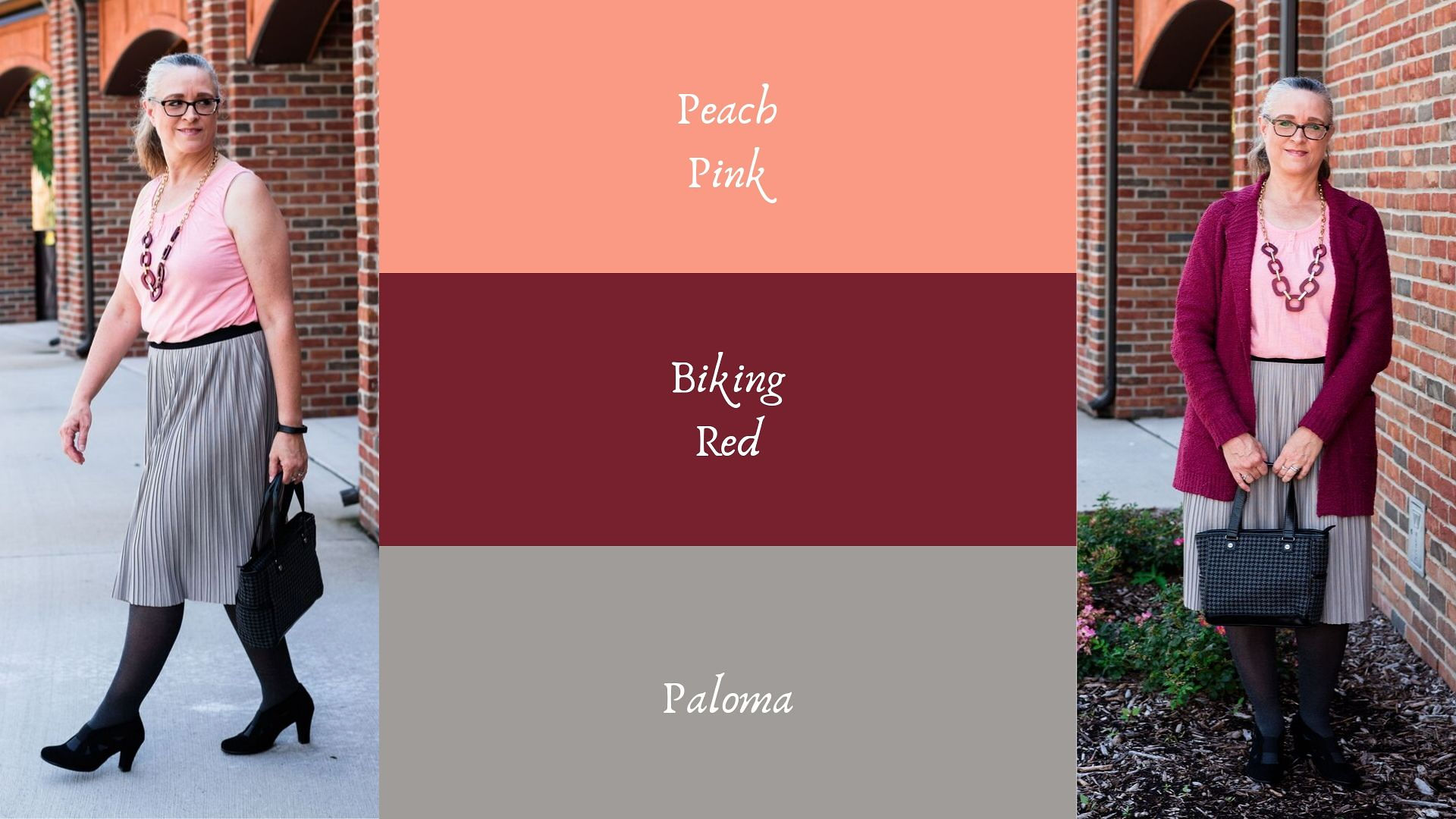 Pantone - Autumn/Winter - 2019 - Peach Pink and Biking Red