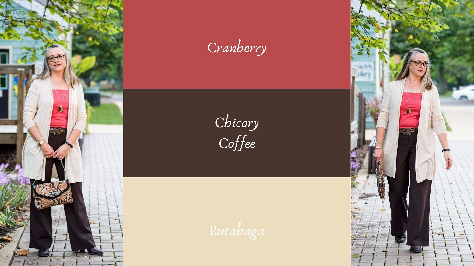 Pantone - Autumn/Winter - 2019 - Cranberry and Chicory Coffee