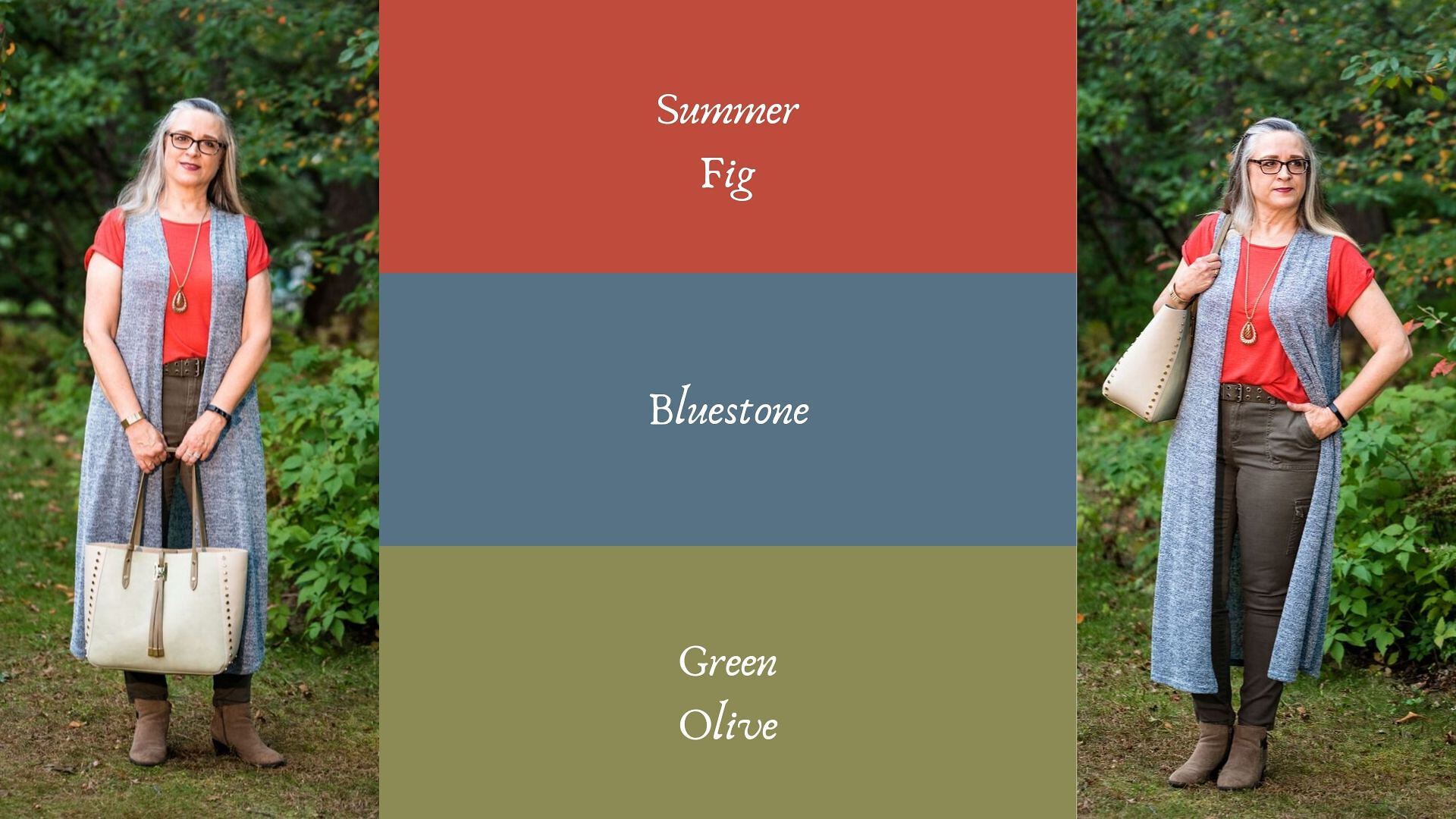 Pantone - Autumn/Winter - 2019 - Summer Fig and Bluestone