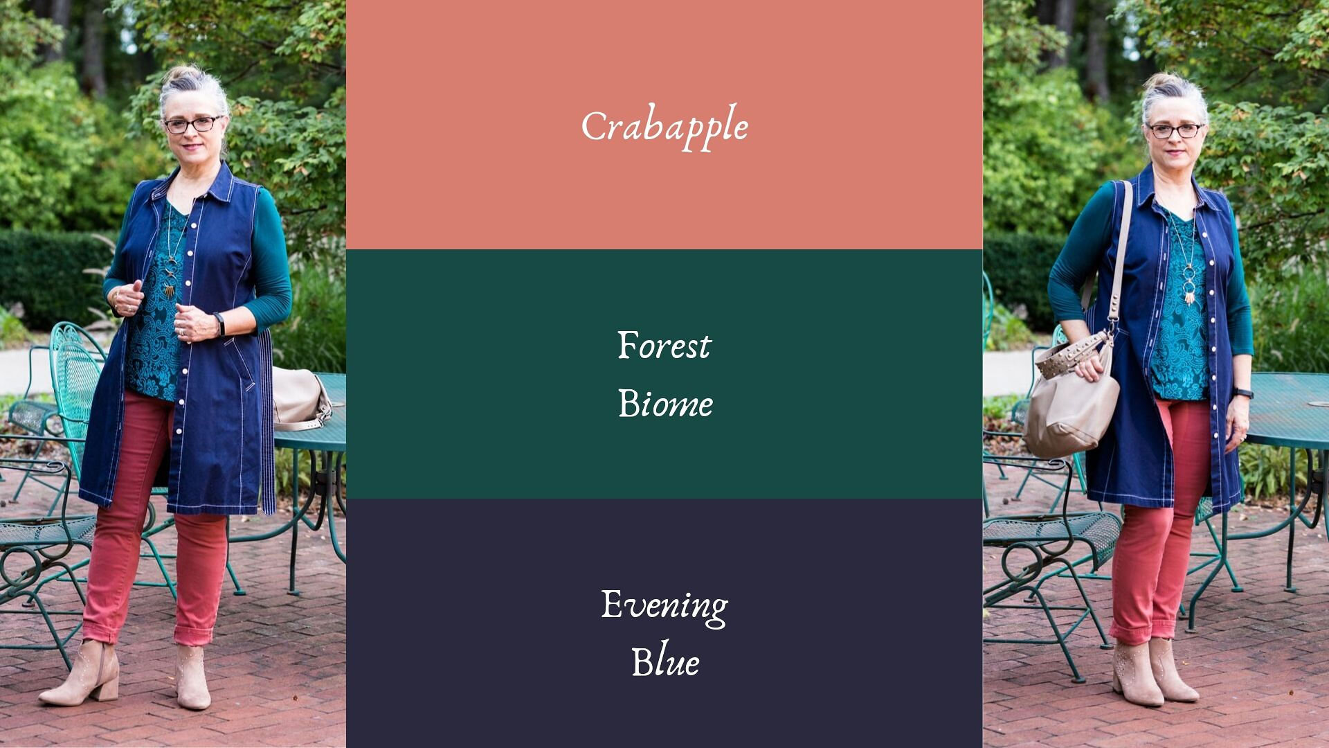 Pantone - Autumn/Winter - Crabapple and Forest Biome