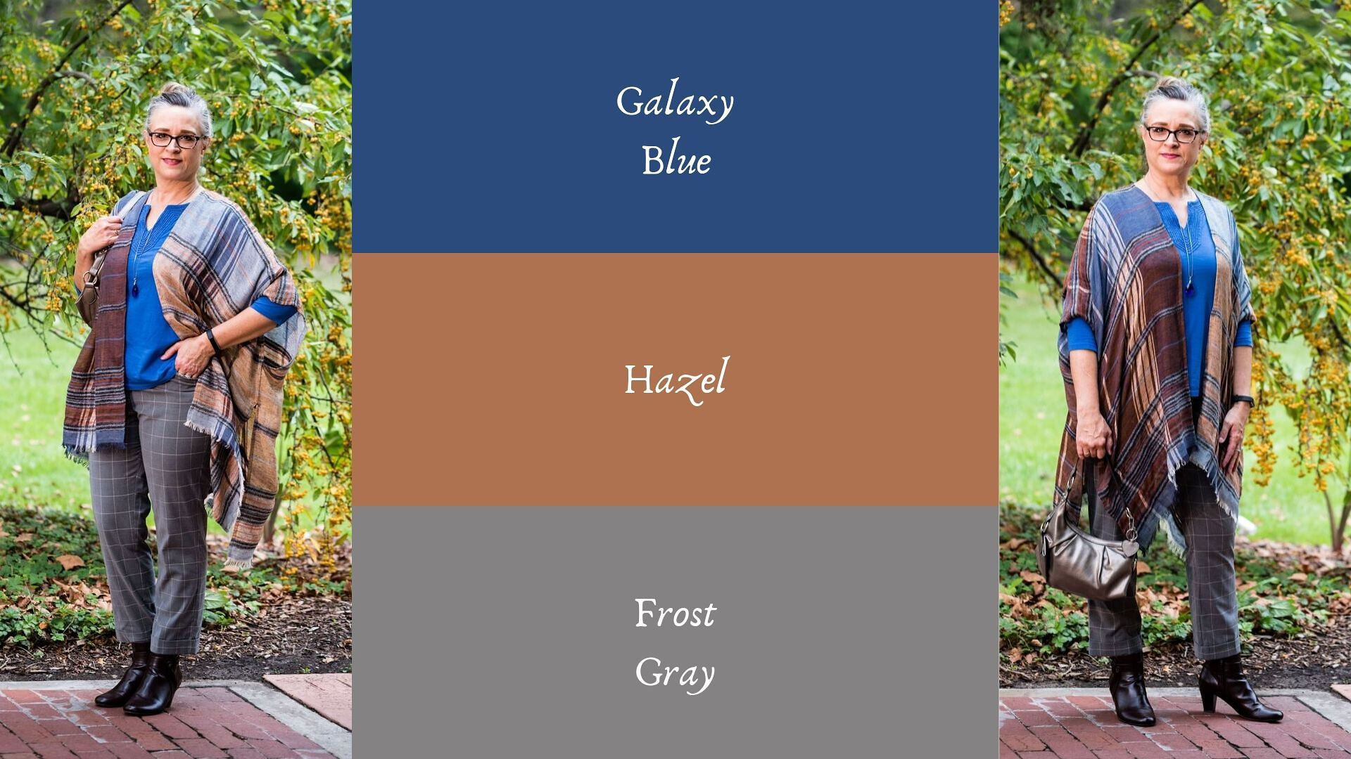 Pantone - Autumn/ Winter - 2019 - Galaxy Blue and Hazel