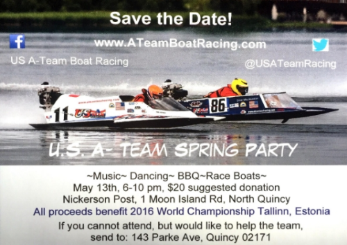 U.S. A-Team Boat Racing