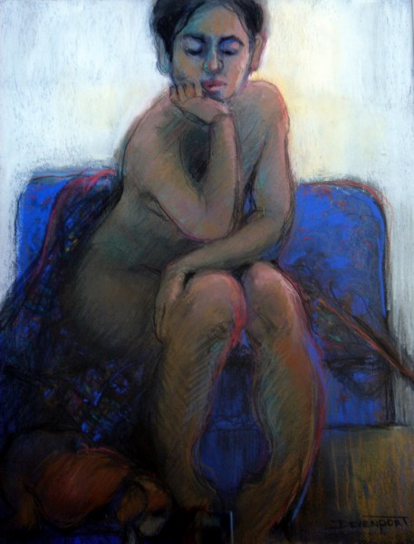 Moody Blue, permanent collection Royal Art Society