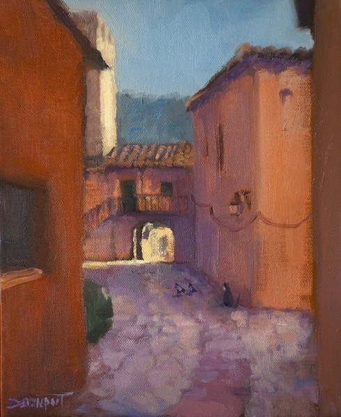 Cat Among the Pigeons, Albarracin, Spain (sold)