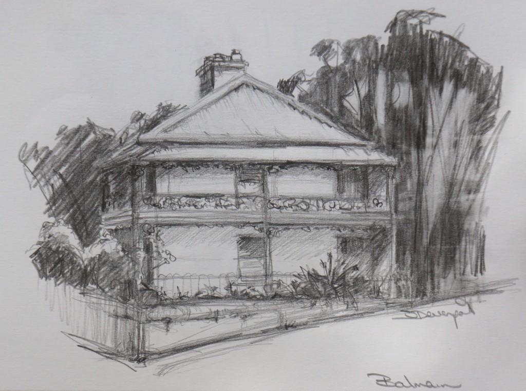 Balmain Sketching