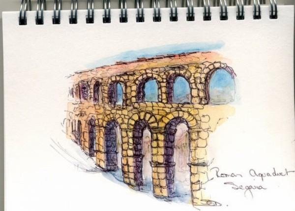 Aquaduct, Segovia, Spain