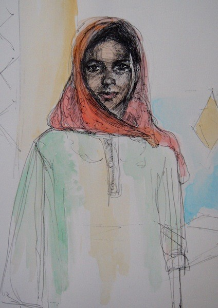 Nubian Woman, Egypt