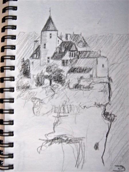 Along the Dordogne, France