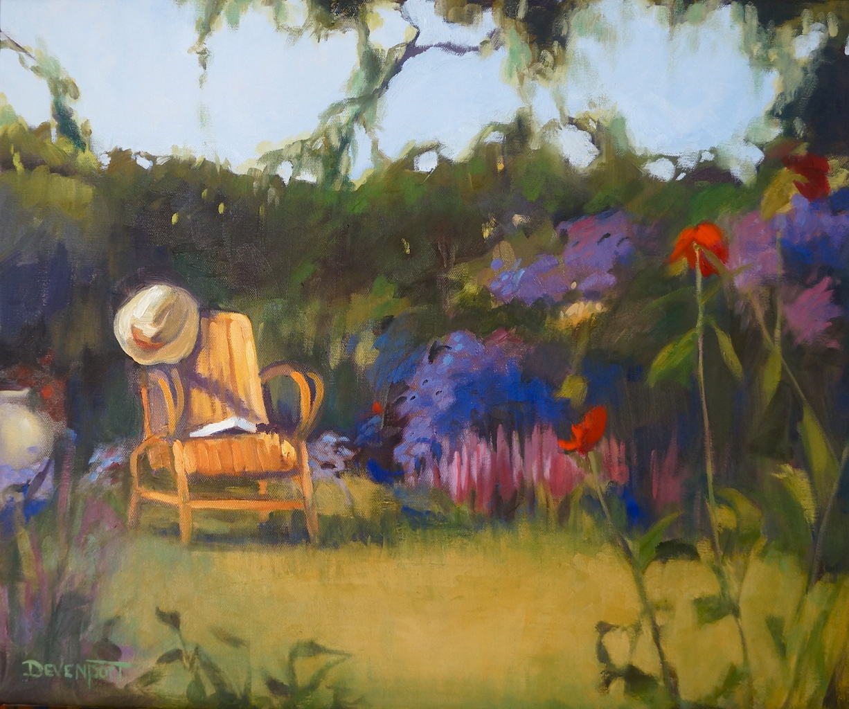 """Unfinished Story, oil, 20""""x24"""" (sold)"""