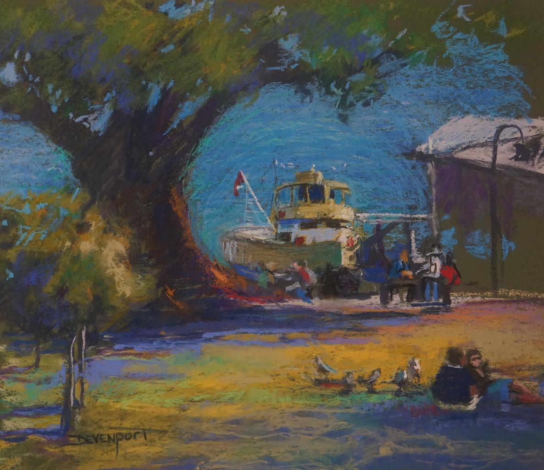 Watson's Bay, pastel