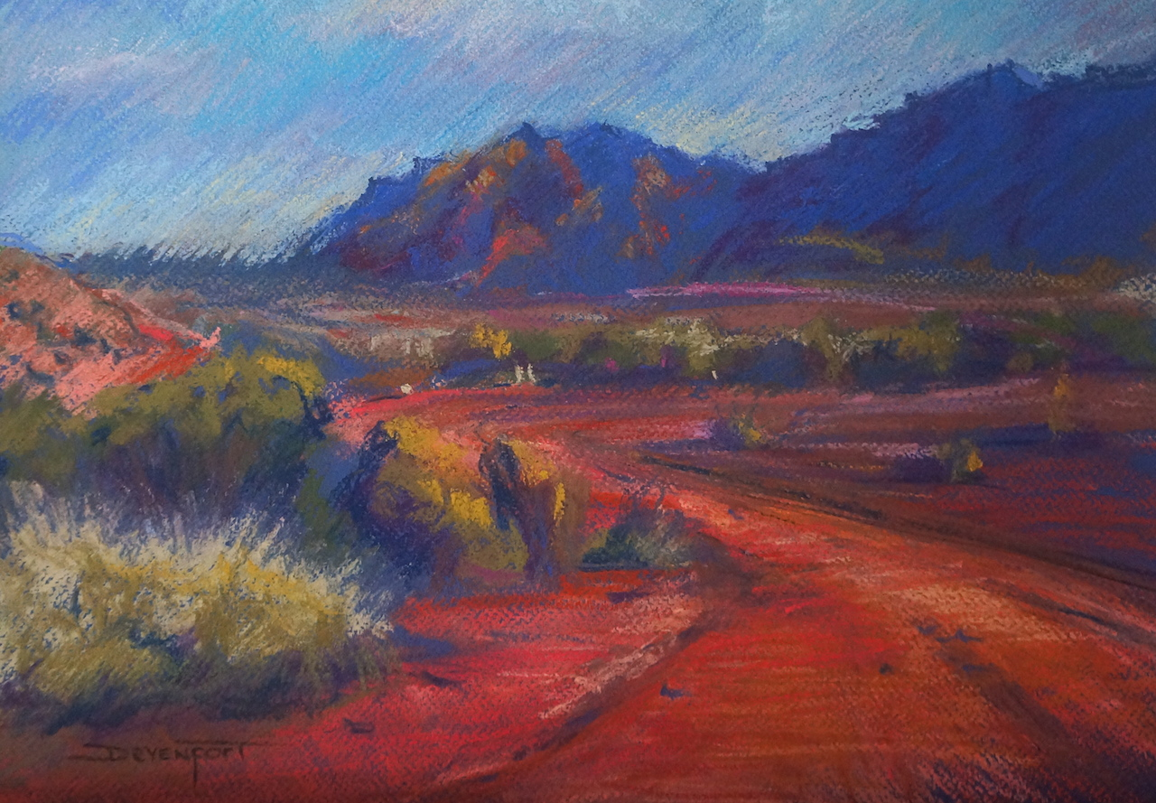Flinders Revisited, pastel (sold)