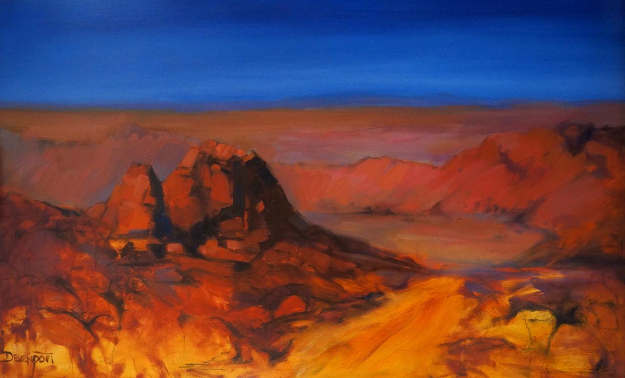 Arkaroola, oil on canvas
