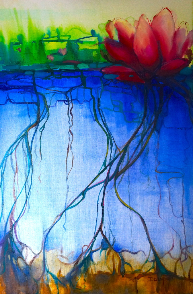 Water Lilies, oil on canvas