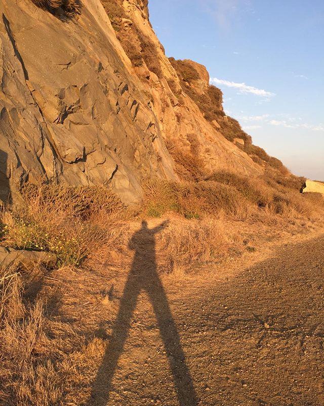 Sizable shadow selfie