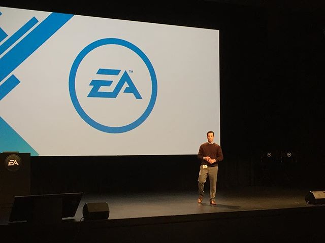 Big thanks to Electronic Arts for having me onsite today! Looks fancy but I'm just on stage talking about how to share files with Google Drive 😂 nothing ground breaking, but I appreciate the venue nevertheless! #NOTaTEDtalk
