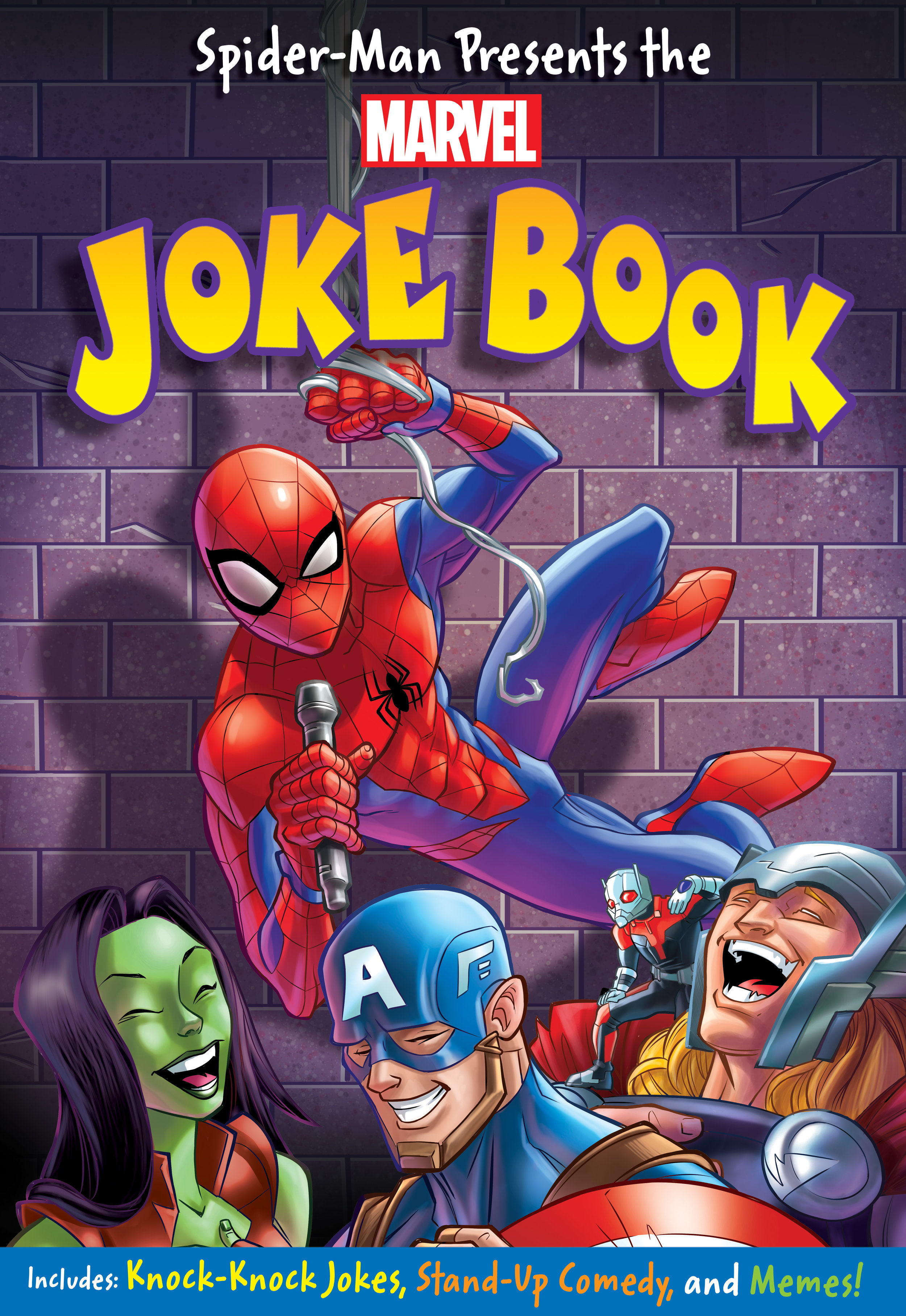 Spider-Man Presents the Marvel Joke Book