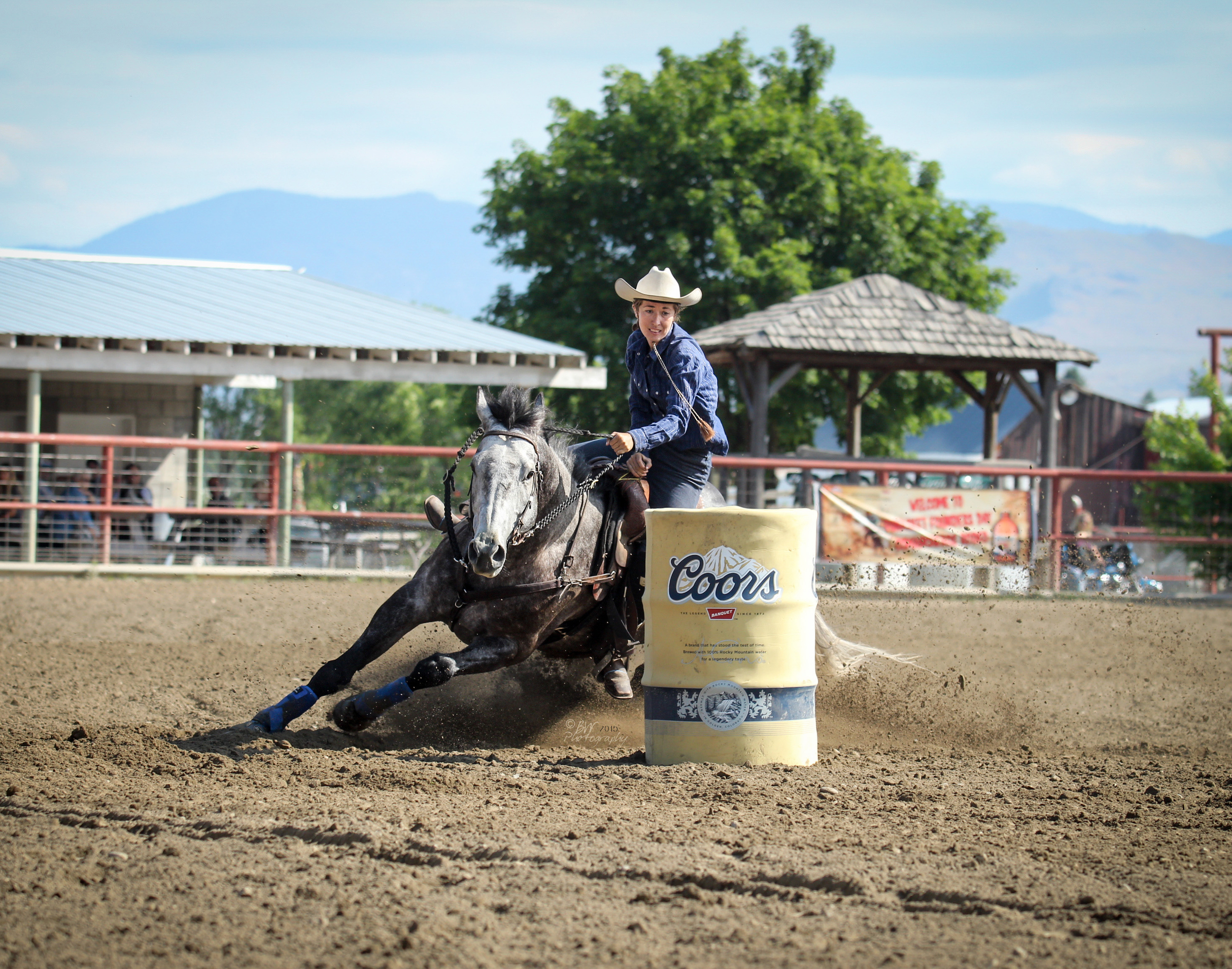 Judge Cashanova at Tonasket Founders Day Rodeo