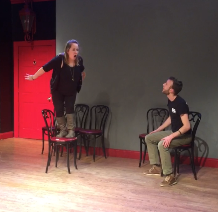 Tony Danza's Thought-a-Day Calendar performing in the NYC Improv Fest at The PIT (2017)
