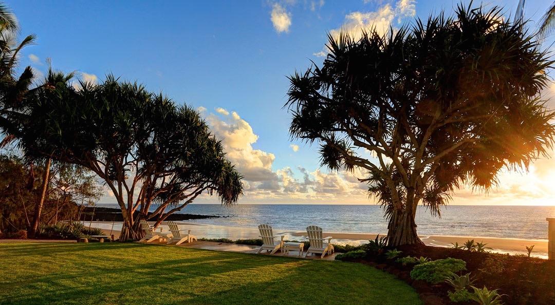 Sunrise at Zen Beach Retreat