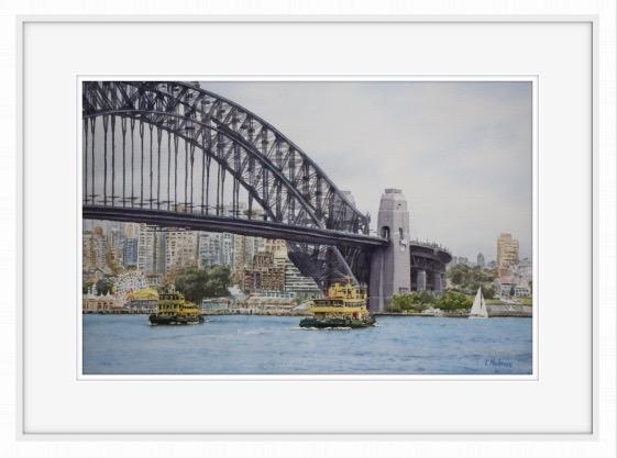 Ferries on Sydney Harbour