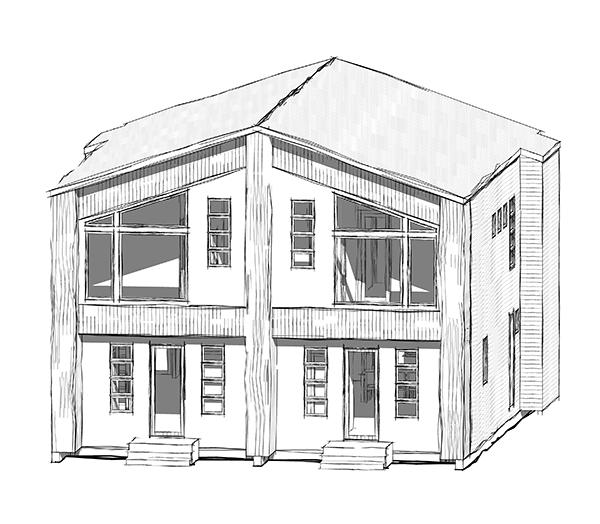 Best Edmonton Infill & Skinny Homes. Accent Infills