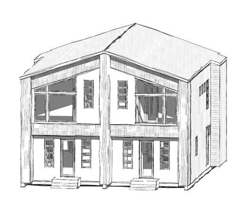 Edmonton Infill Homes Accent Skinny Homes Ritchie