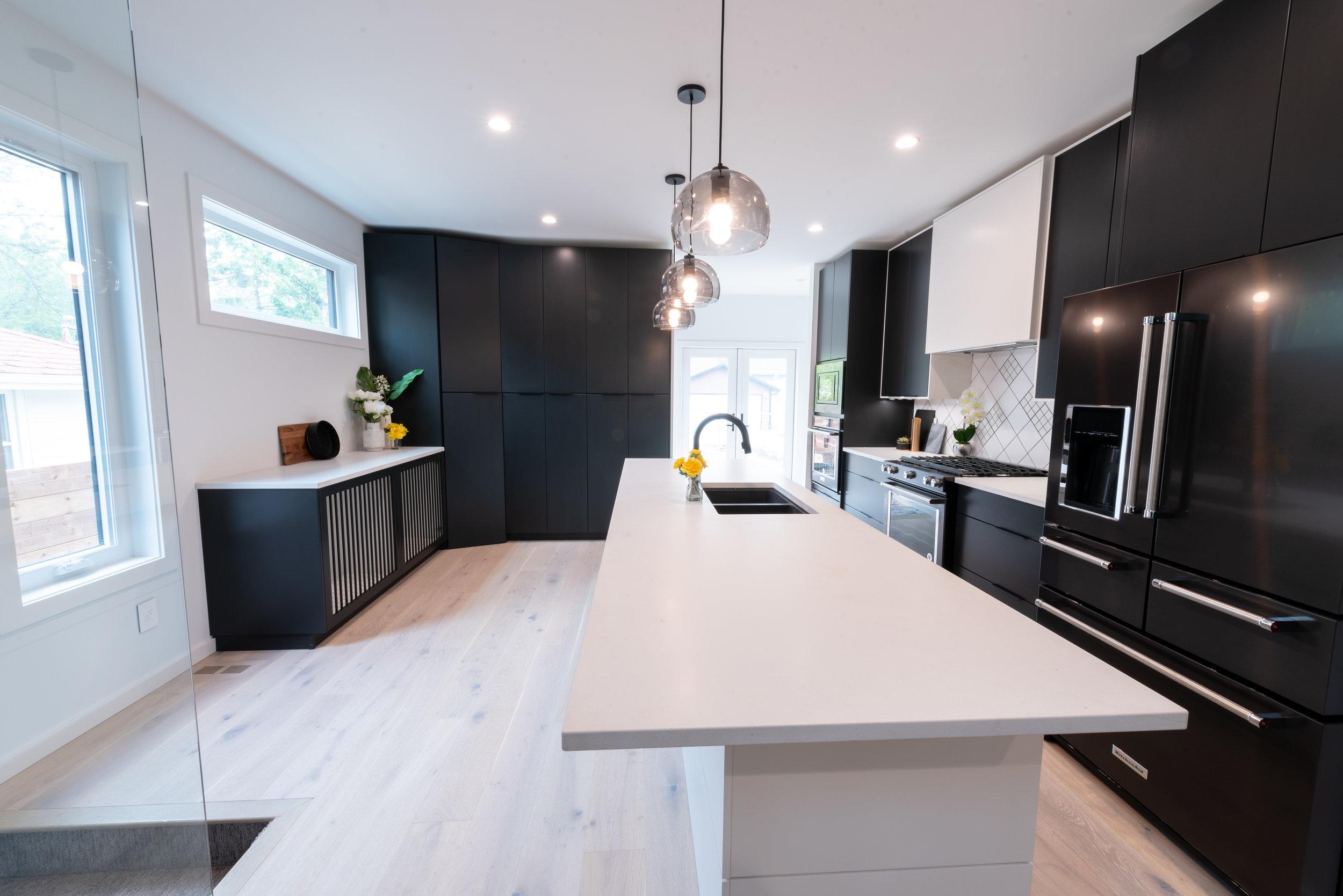 Modern Kitchen in Daylight