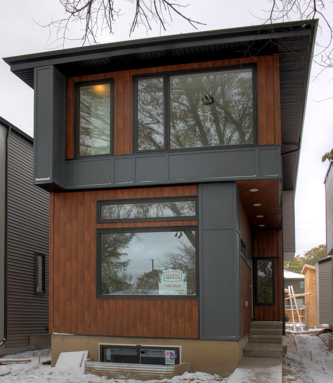 the dawson accent infills Edmonton home model