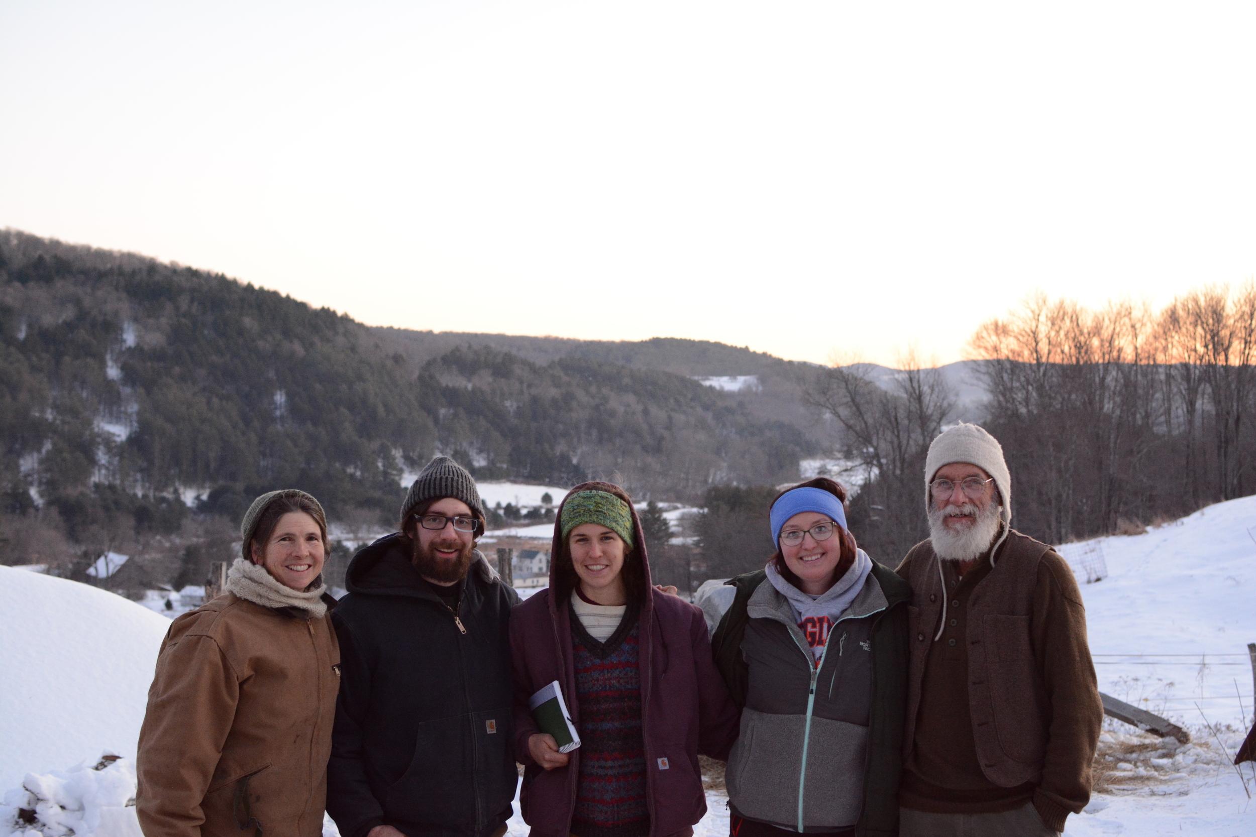 Our friends at Sunny Hill Farm in Randolph, VT