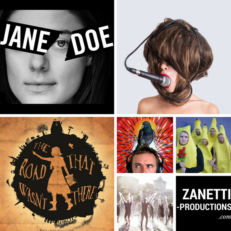 Zanetti Productions Edinburgh Fringe 2017