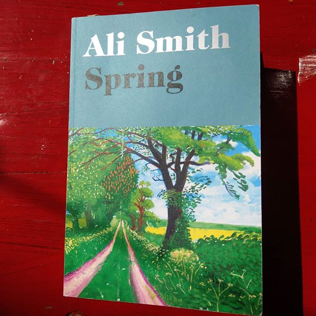One of the most fiercely relevant books I've ever read. Read it now.  #alismith #spring