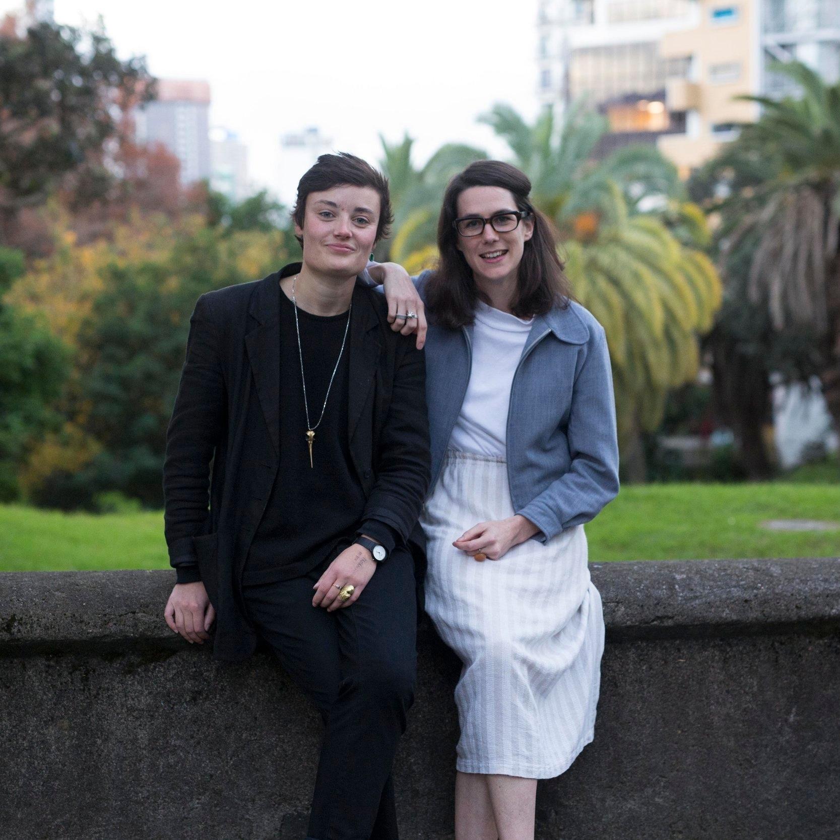 Lydia Zanetti & Helen Sheehan // Photo: Andi Crown Photography