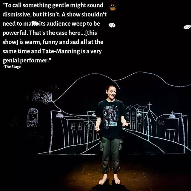 Been having a bunch of thoughts about the use of trauma and tough experiences as the heart of art making here at #edfringe, and then The Stage wrote this beautiful thing about #MyBestDeadFriend and it made me v proud!  17.15 at @summerhallery til the end of the fest. Come through!  http://bit.ly/MyBestDeadFriendEds19  #edfringe2019