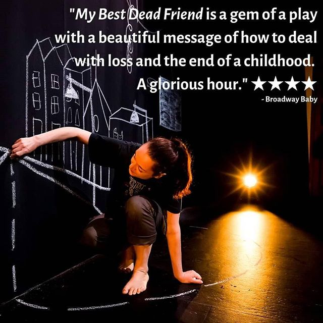 This beautiful hug of a show is just what you need in week 3 of #edfringe! At least that's what the critics think, and audiences too!  My Best Dead Friend, 17.15 at Summerhall Don't miss out: http://bit.ly/MyBestDeadFriendEds19  #SHfest19 #MakeMyFringe