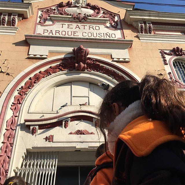 Disfrutando un especial teatro de nuestra ciudad #arrayansanmiguel