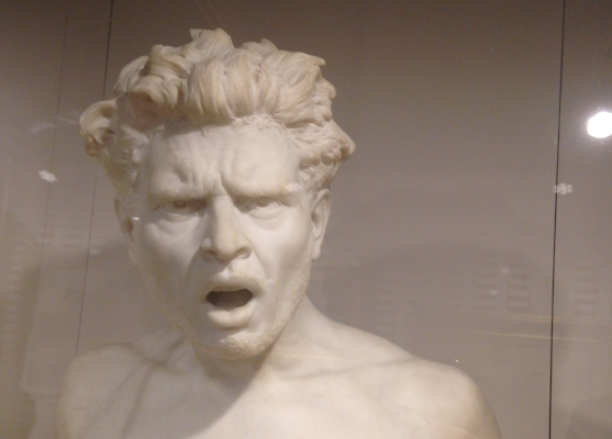 My favorite unlabeled bust. The skillful detail is amazing.