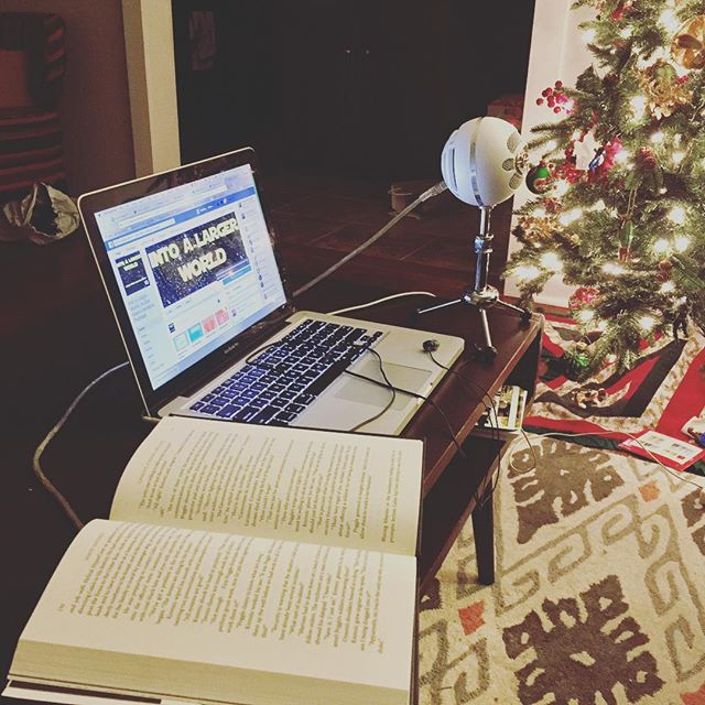 Setting up to record Episode 2: Catalyst by James Luceno #starwars #podcast #starwarsbooks