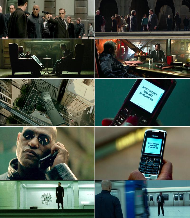 John wick chapter2 vs Matrix