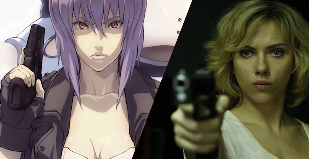 Scarlett Johansson (pictured here in the titular role of 2014's Lucy) has been coming under fire for being cast as Motoko Kusanagi in the upcoming Ghost in the Shell feature adaptation.