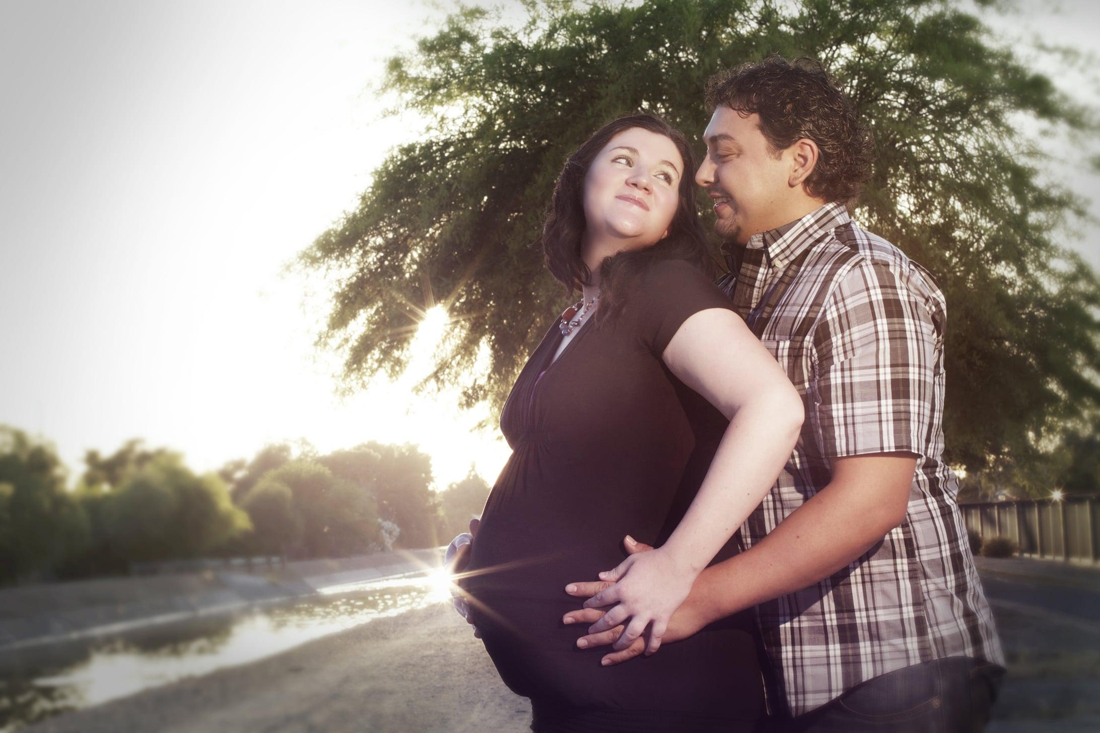 roy and bethany maternity photoshoot