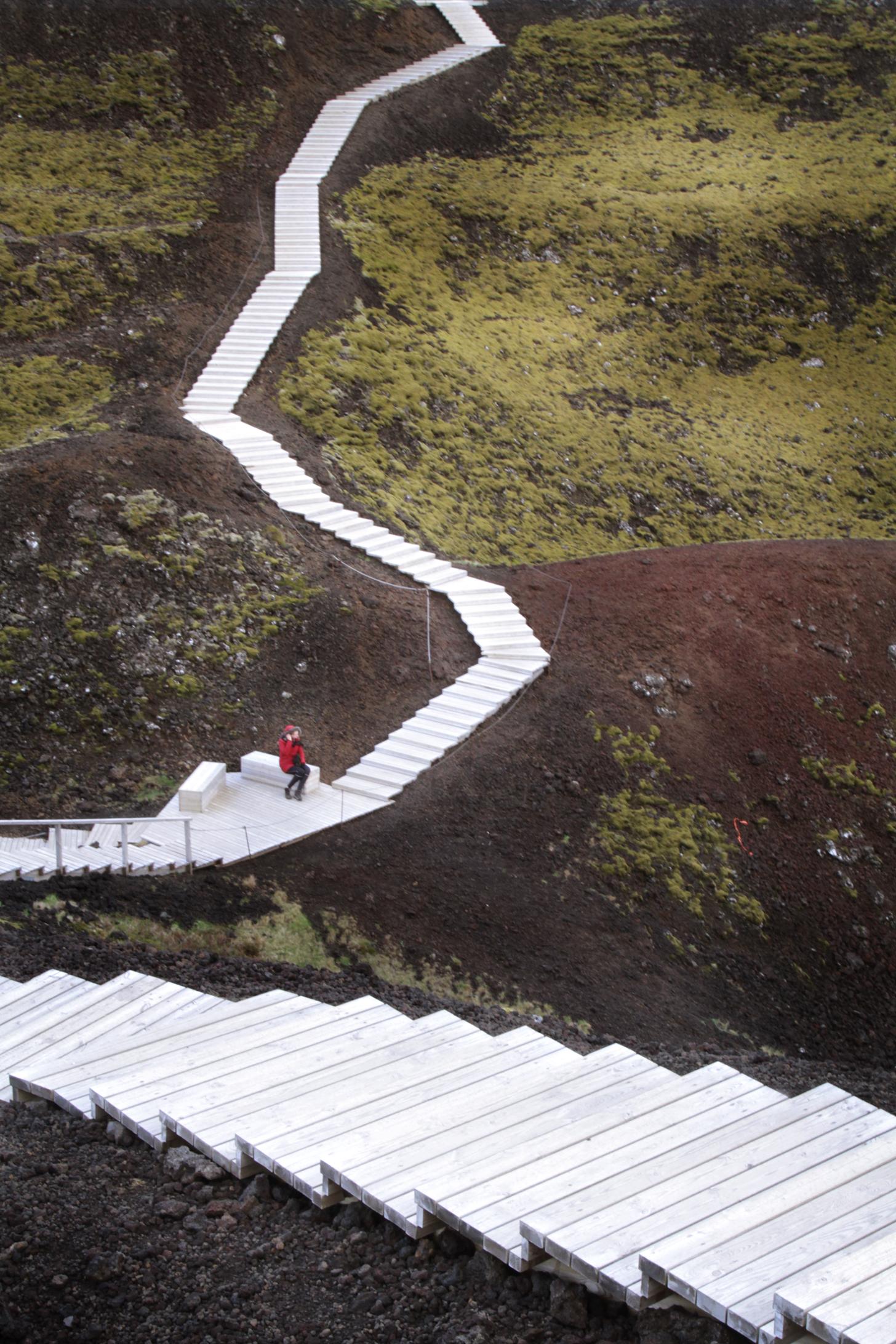 grabrok volcano, iceland